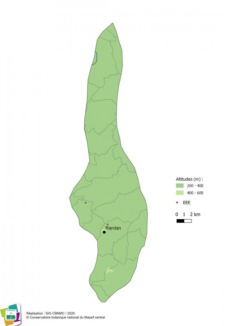 Espèces exotiques envahissantes de la Forêt et bocage du Val d'Allier vichyssois