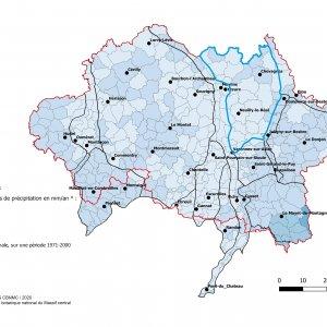 Pluviométrie de la Sologne bourbonnaise